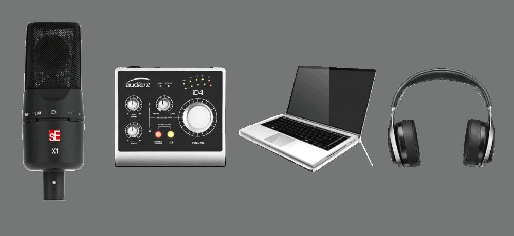 voiceover recording equipment