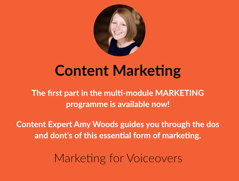 Marketing for Voiceovers