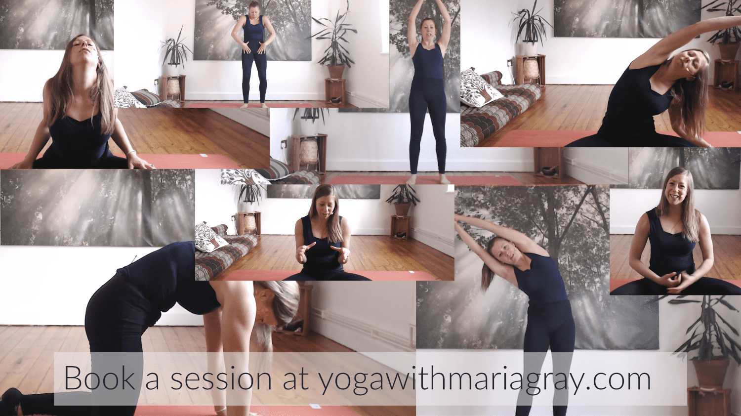 Book a Yoga session with Maria